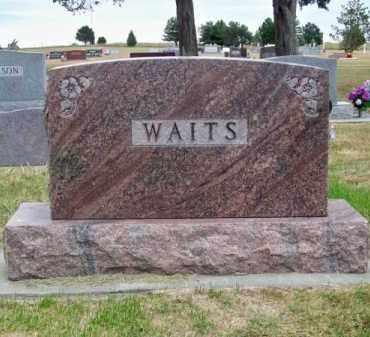 WAITS, FAMILY - Brown County, Nebraska   FAMILY WAITS - Nebraska Gravestone Photos