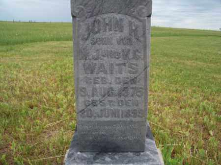 WAITS, JOHN H. - Brown County, Nebraska | JOHN H. WAITS - Nebraska Gravestone Photos