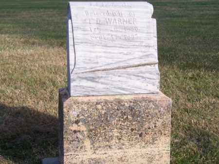 WARNER, ELIZA J. - Brown County, Nebraska | ELIZA J. WARNER - Nebraska Gravestone Photos