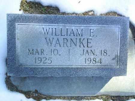 WARNKE, WILLIAM - Brown County, Nebraska | WILLIAM WARNKE - Nebraska Gravestone Photos