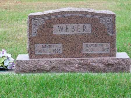 WEBER, RAYMOND J. - Brown County, Nebraska | RAYMOND J. WEBER - Nebraska Gravestone Photos