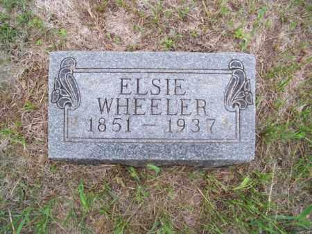 WHEELER, ELSIE - Brown County, Nebraska | ELSIE WHEELER - Nebraska Gravestone Photos