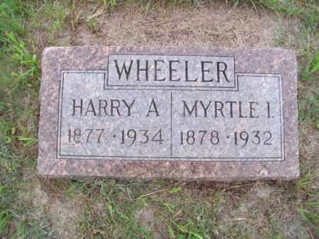 WHEELER, HARRY A. - Brown County, Nebraska | HARRY A. WHEELER - Nebraska Gravestone Photos