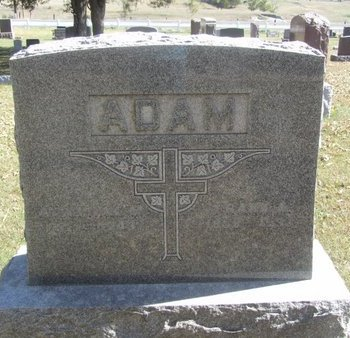 ADAM, FRANK A. - Buffalo County, Nebraska | FRANK A. ADAM - Nebraska Gravestone Photos