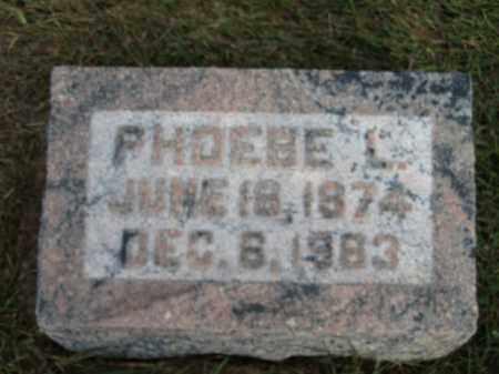 ADAM, PHOEBE L. - Buffalo County, Nebraska | PHOEBE L. ADAM - Nebraska Gravestone Photos