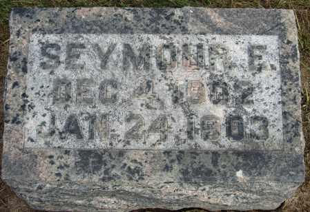 ADAM, SEYMOUR E. - Buffalo County, Nebraska | SEYMOUR E. ADAM - Nebraska Gravestone Photos