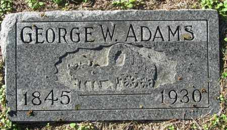 ADAMS, GEORGE - Buffalo County, Nebraska | GEORGE ADAMS - Nebraska Gravestone Photos