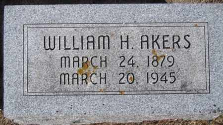 AKERS, WILLIAM - Buffalo County, Nebraska   WILLIAM AKERS - Nebraska Gravestone Photos