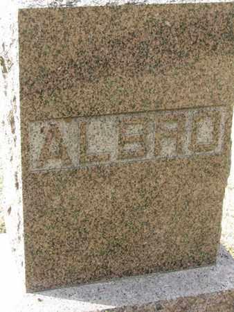 ALBRO, EMMA - Buffalo County, Nebraska | EMMA ALBRO - Nebraska Gravestone Photos