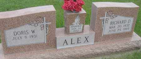 ALEX, DORIS - Buffalo County, Nebraska | DORIS ALEX - Nebraska Gravestone Photos