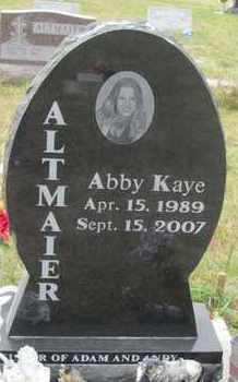 ALTMAIER, ABBY - Buffalo County, Nebraska | ABBY ALTMAIER - Nebraska Gravestone Photos