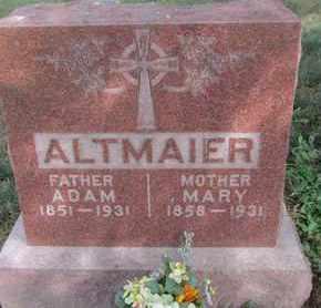 ALTMAIER, ADAM - Buffalo County, Nebraska | ADAM ALTMAIER - Nebraska Gravestone Photos