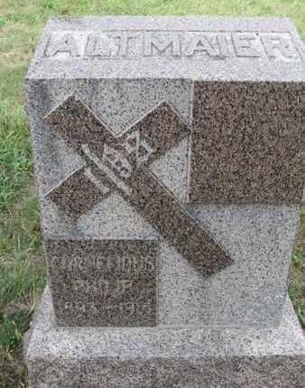 ALTMAIER, CORNELIOUS - Buffalo County, Nebraska | CORNELIOUS ALTMAIER - Nebraska Gravestone Photos