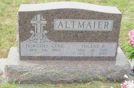 ALTMAIER, EUGENE - Buffalo County, Nebraska   EUGENE ALTMAIER - Nebraska Gravestone Photos