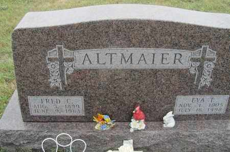 ALTMAIER, EVA - Buffalo County, Nebraska | EVA ALTMAIER - Nebraska Gravestone Photos