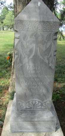 ALTMAIER, FRANK - Buffalo County, Nebraska | FRANK ALTMAIER - Nebraska Gravestone Photos
