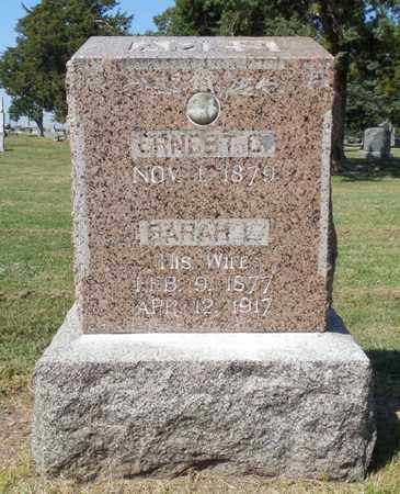 BARRETT AMES, SARAH - Buffalo County, Nebraska | SARAH BARRETT AMES - Nebraska Gravestone Photos