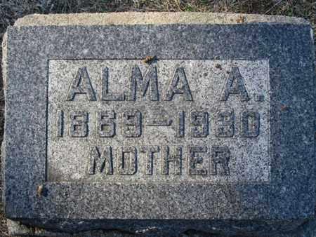 ANDERSON, ALMA - Buffalo County, Nebraska | ALMA ANDERSON - Nebraska Gravestone Photos