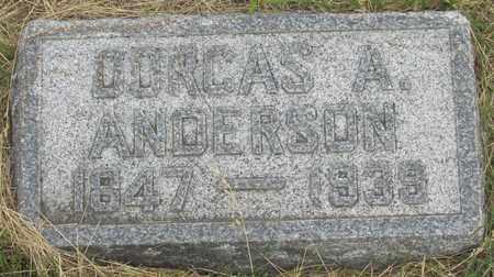 ANDERSON, DORCAS - Buffalo County, Nebraska   DORCAS ANDERSON - Nebraska Gravestone Photos
