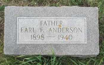 ANDERSON, EARL - Buffalo County, Nebraska | EARL ANDERSON - Nebraska Gravestone Photos