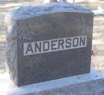 ANDERSON, FAMILY - Buffalo County, Nebraska | FAMILY ANDERSON - Nebraska Gravestone Photos