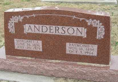 ANDERSON, MARGARET - Buffalo County, Nebraska | MARGARET ANDERSON - Nebraska Gravestone Photos