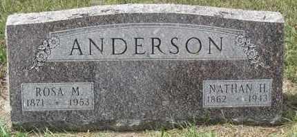 ANDERSON, NATHAN - Buffalo County, Nebraska | NATHAN ANDERSON - Nebraska Gravestone Photos
