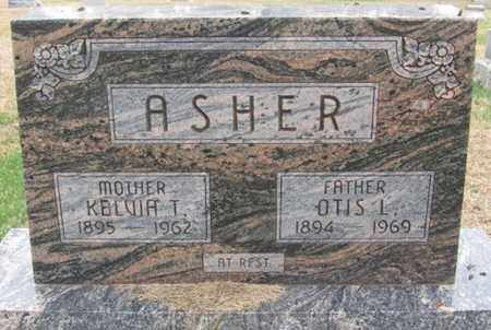 ASHER, OTIS - Buffalo County, Nebraska | OTIS ASHER - Nebraska Gravestone Photos