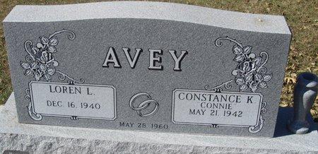 AVEY, LOREN L. - Buffalo County, Nebraska | LOREN L. AVEY - Nebraska Gravestone Photos