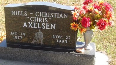 AXELSEN, NIELS CHRISTIAN - Buffalo County, Nebraska | NIELS CHRISTIAN AXELSEN - Nebraska Gravestone Photos