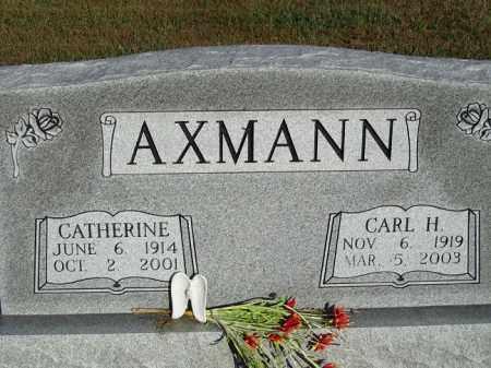 AXMANN, CARL H. - Buffalo County, Nebraska   CARL H. AXMANN - Nebraska Gravestone Photos