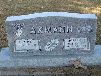 AXMANN, JOSEPH H. - Buffalo County, Nebraska | JOSEPH H. AXMANN - Nebraska Gravestone Photos
