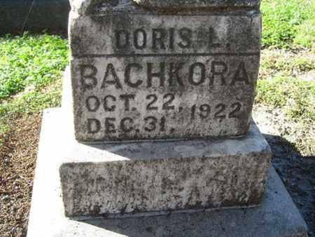 BACHKORA, DORIS - Buffalo County, Nebraska | DORIS BACHKORA - Nebraska Gravestone Photos
