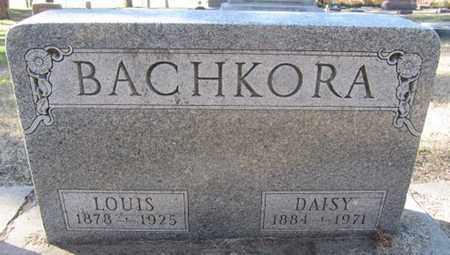 BACHKORA, LOUIS - Buffalo County, Nebraska | LOUIS BACHKORA - Nebraska Gravestone Photos
