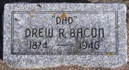 BACON, DREW - Buffalo County, Nebraska | DREW BACON - Nebraska Gravestone Photos
