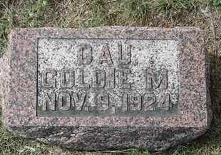 BAER, GOLDIE - Buffalo County, Nebraska | GOLDIE BAER - Nebraska Gravestone Photos