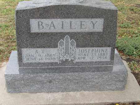 BAILEY, A. C. - Buffalo County, Nebraska | A. C. BAILEY - Nebraska Gravestone Photos