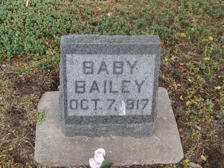 BAILEY, BABY - Buffalo County, Nebraska | BABY BAILEY - Nebraska Gravestone Photos