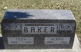 BAKER, TONY - Buffalo County, Nebraska | TONY BAKER - Nebraska Gravestone Photos