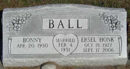 BALL, BONNY - Buffalo County, Nebraska | BONNY BALL - Nebraska Gravestone Photos