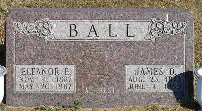 BALL, ELEANOR E. - Buffalo County, Nebraska | ELEANOR E. BALL - Nebraska Gravestone Photos