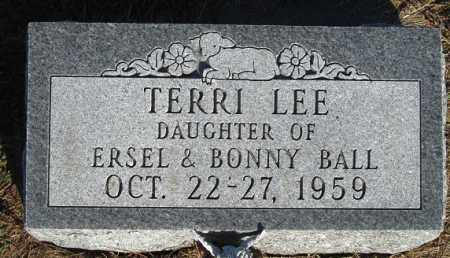 BALL, TERRI LEE - Buffalo County, Nebraska | TERRI LEE BALL - Nebraska Gravestone Photos