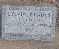 BARKDOLL, SYLVIA GLADYS - Buffalo County, Nebraska | SYLVIA GLADYS BARKDOLL - Nebraska Gravestone Photos