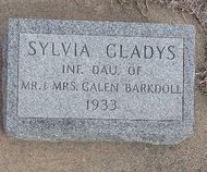 BARKDOLL, SYLVIA GLADYS - Buffalo County, Nebraska   SYLVIA GLADYS BARKDOLL - Nebraska Gravestone Photos