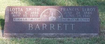 SMITH BARRETT, LOTTA - Buffalo County, Nebraska | LOTTA SMITH BARRETT - Nebraska Gravestone Photos