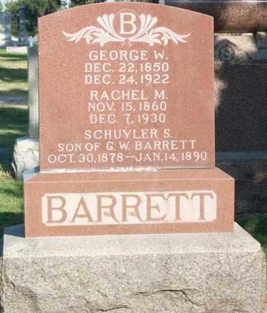 BARRETT, SCHUYLER - Buffalo County, Nebraska | SCHUYLER BARRETT - Nebraska Gravestone Photos