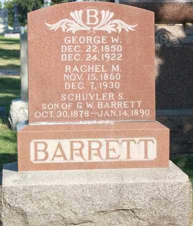 BARRETT, RACHEL - Buffalo County, Nebraska | RACHEL BARRETT - Nebraska Gravestone Photos