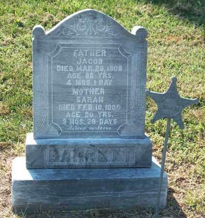 BARRETT, JACOB - Buffalo County, Nebraska | JACOB BARRETT - Nebraska Gravestone Photos