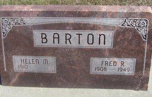 BARTON, FRED R. - Buffalo County, Nebraska | FRED R. BARTON - Nebraska Gravestone Photos