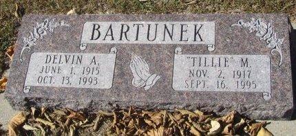 BARTUNEK, DELVIN A. - Buffalo County, Nebraska | DELVIN A. BARTUNEK - Nebraska Gravestone Photos